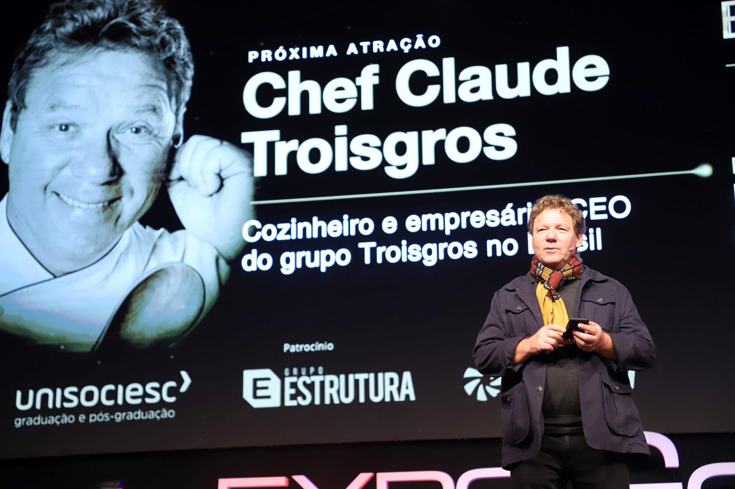 Claude Troigros começou a carreira engatinhando na cozinha