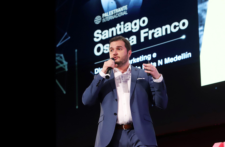 Foto do palestrante Santiago Ospina